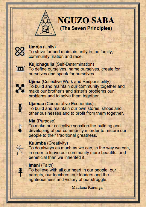 Seven Reasons To Overcome All Objections To Celebrating Kwanzaa
